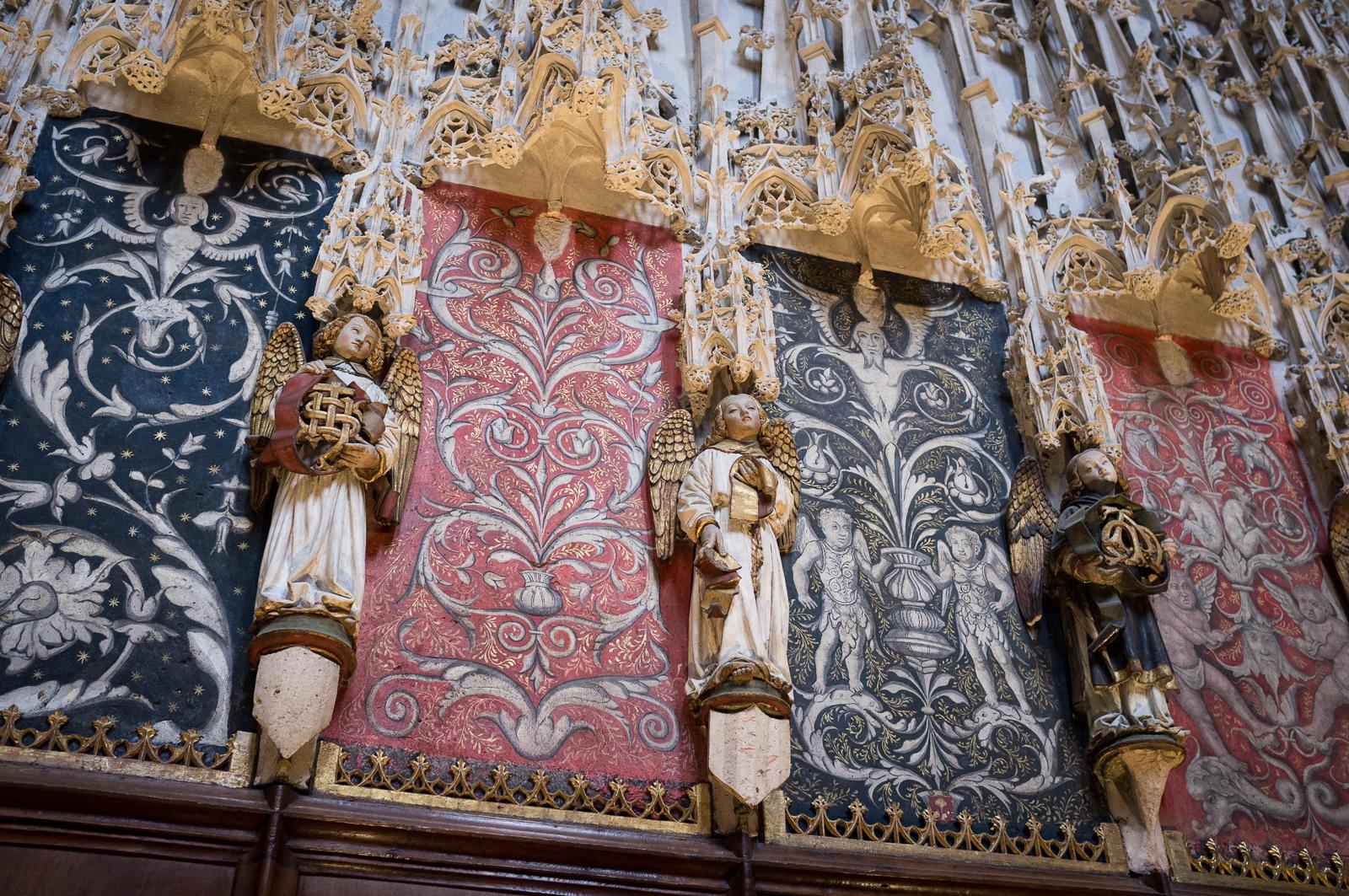 Detail of the choir screen - Photo by Asgeir Pedersen, Spots France