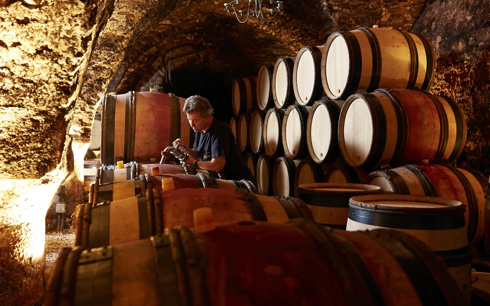 Wine cellar © J. Piffaut – Beaune Tourisme