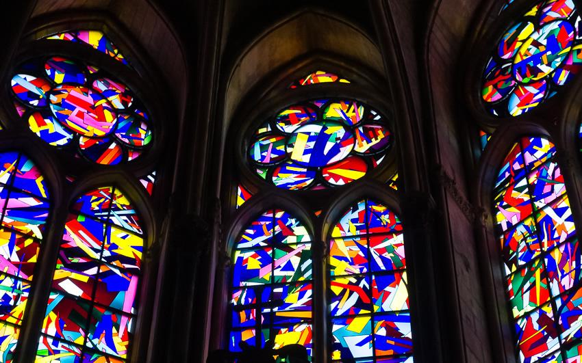 Sacré Coeur chapel by Imi Knoebel - Photo by Asgeir Pedersen, Spots France