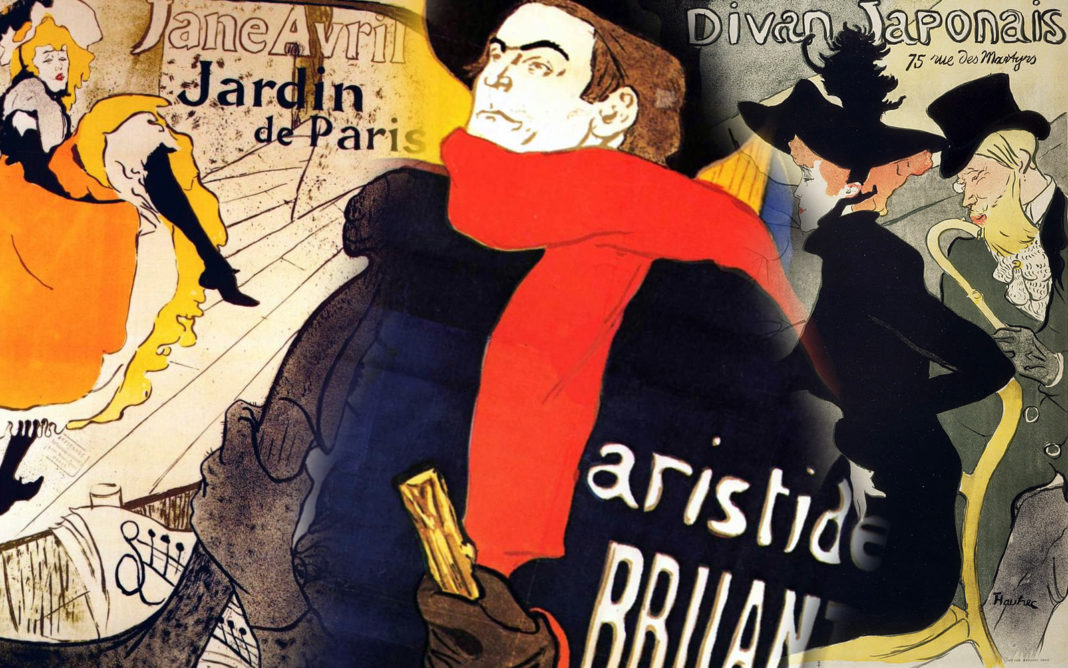 Toulouse-Lautrec-Posters-Collage