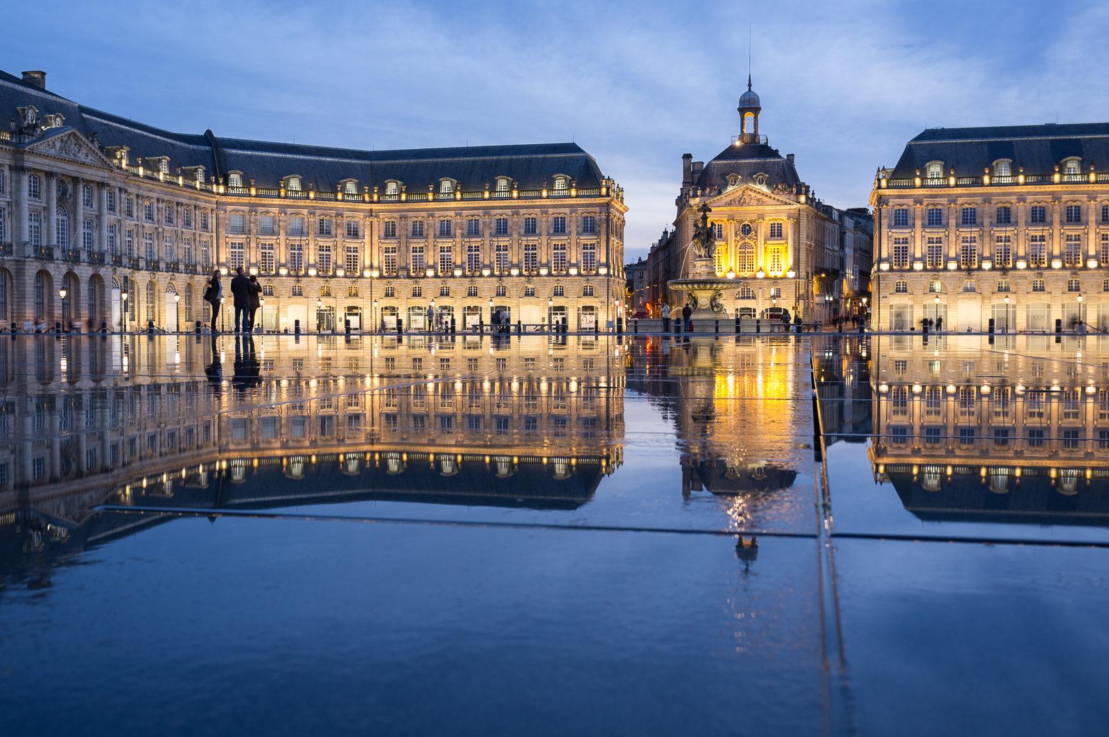 Place de la Bourse, Bordeaux- Photo by Asgeir Pedersen, Spots France
